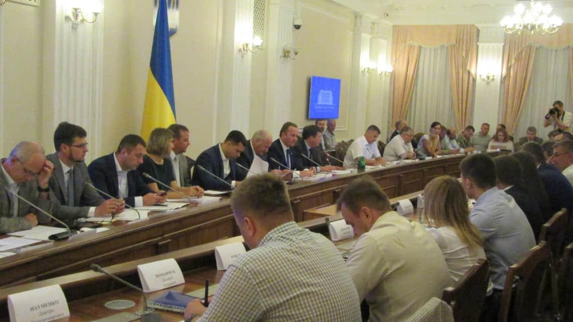 Склад штабу Національної координаційної ради підприємців України