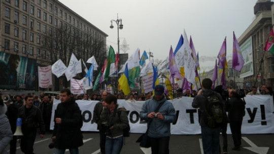 За участь у протестах підприємців сьогодні заарештовано трьох чоловік
